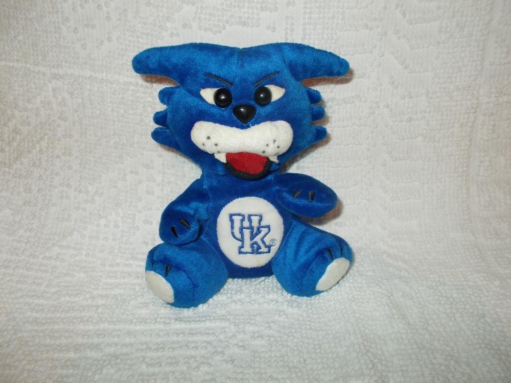 Shoney S University Of Kentucky Wildcat 1997 Bean Bag Team Mascot