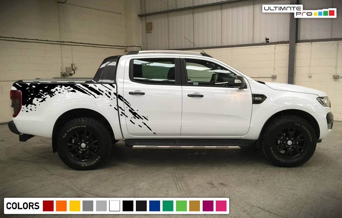 Decal Sticker Vinyl Bed Splash Mud Kit Compatible With Ford Etsy In 2020 Ford Ranger Ford Ranger Wildtrak Ranger