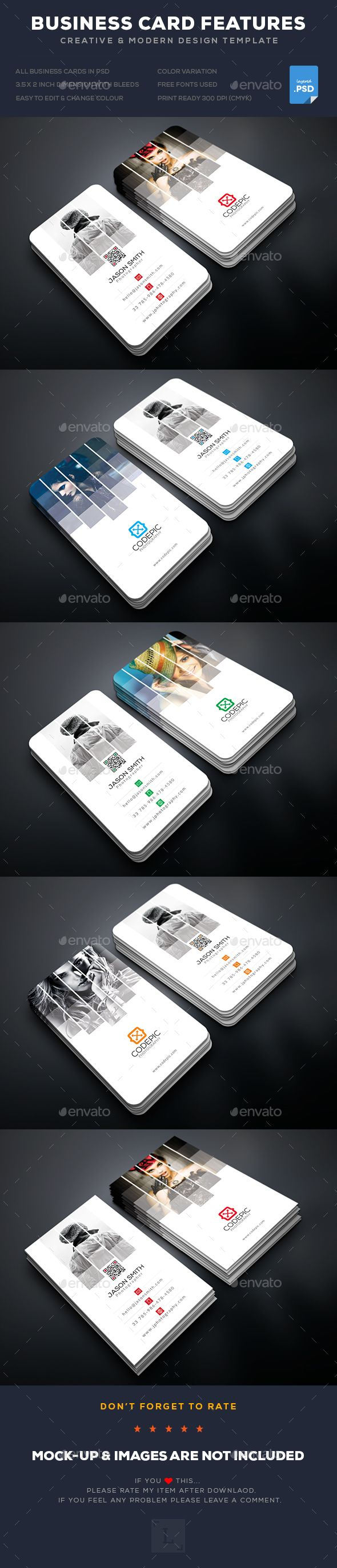 Shade Photography Business Card | Photography business cards ...