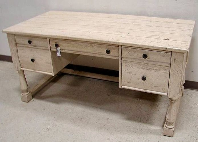 Broyhill Attic Heirlooms Desk In White Stain Broyhill Furniture Broyhill Furniture