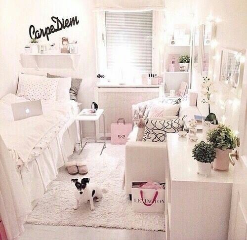 tumblr girly girl room cute rooms pinterest zimmer. Black Bedroom Furniture Sets. Home Design Ideas