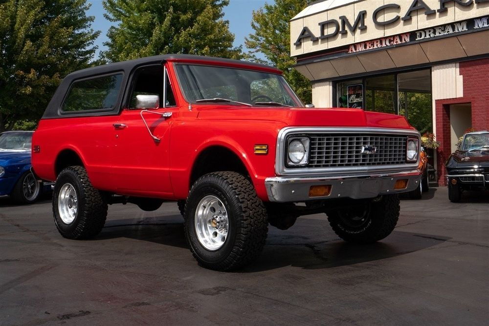 Chevrolet Blazer 4x4 Red Black Int Rare 4 Speed Chevrolet