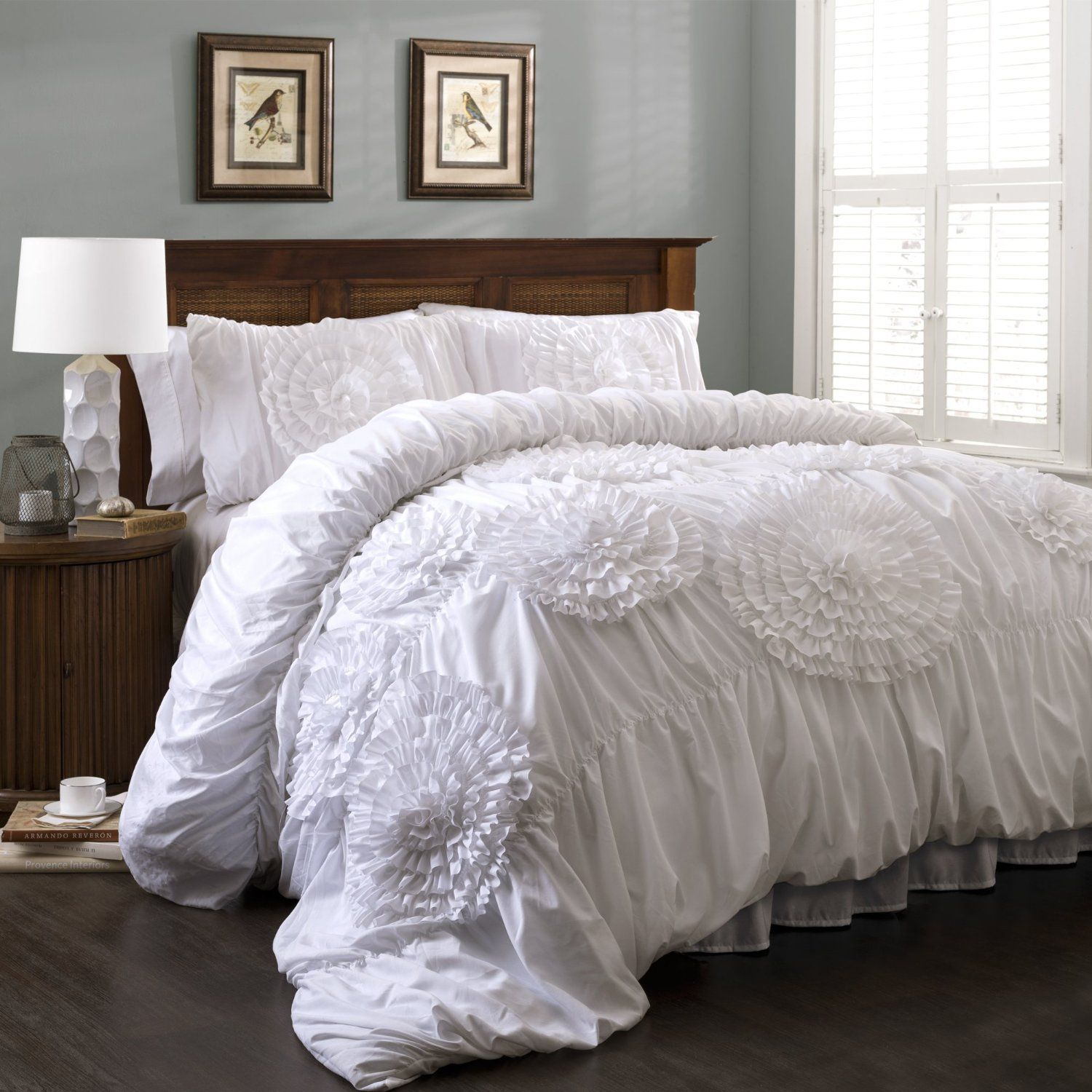 Modern white bedding - 11 White Bedding Sets You Ll Fall In Love With This Is