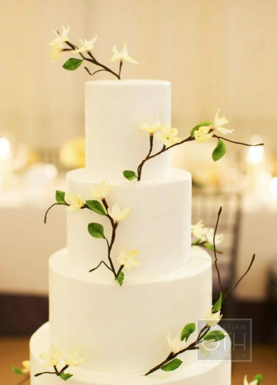 Wedding Cakes with Creatively Special Details | Wedding cake ...