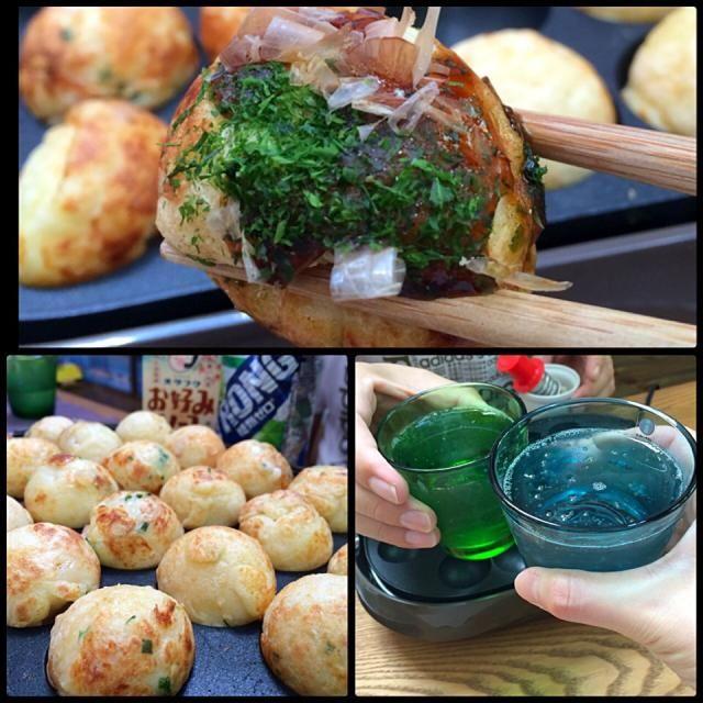 タコ無しタコパーʕ-̼͡-ʔ 素敵なおつまみでカンパイパイʕ-̼͡-ʔ  コーズの美味しいたこ焼き、お好み焼き他粉もん食べて、粉もん興味なかった東京人はトリコになりますたのʕ-̼͡-ʔ - 49件のもぐもぐ - コーズ流たこパー by sevensea73