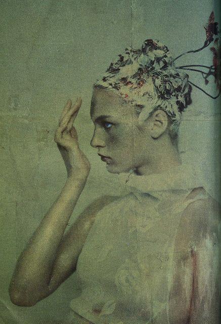 Paolo Roversi- vogue italia 1997 #vogue #fashion #art