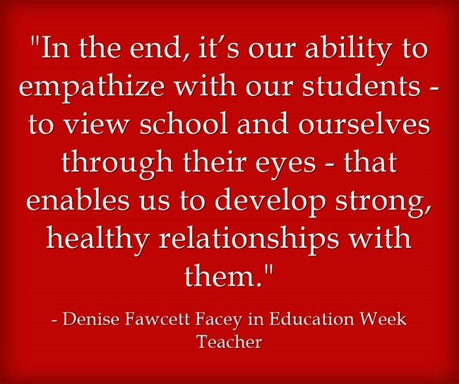 Response: Building Student Relationships by Applying 'the Golden Rule' (Opinion)