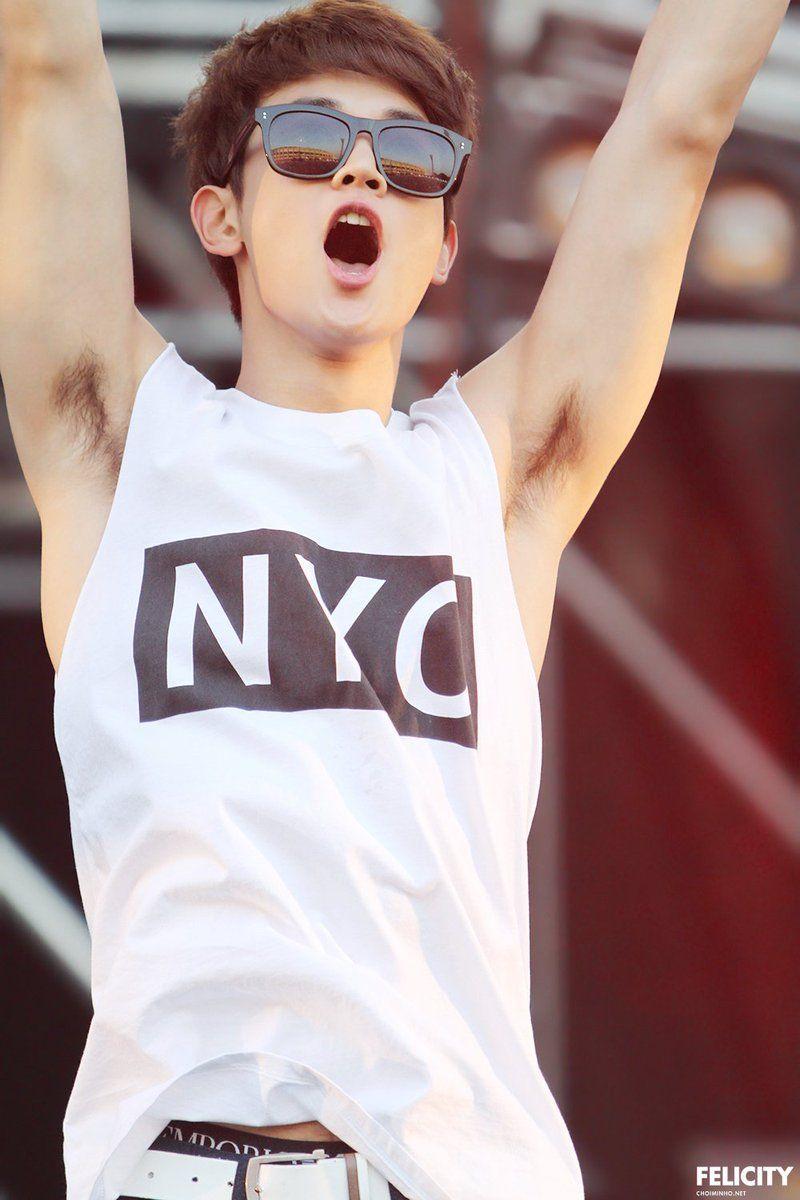 Minho Kpop Shinee Armpit