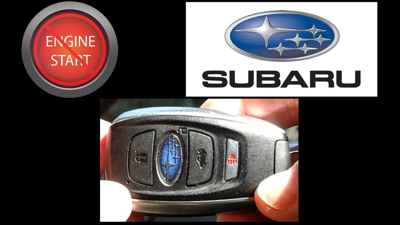 Subaru Key Fob Battery Replacement Late Style Fob Youtube Subaru Key Fob Latest Fashion