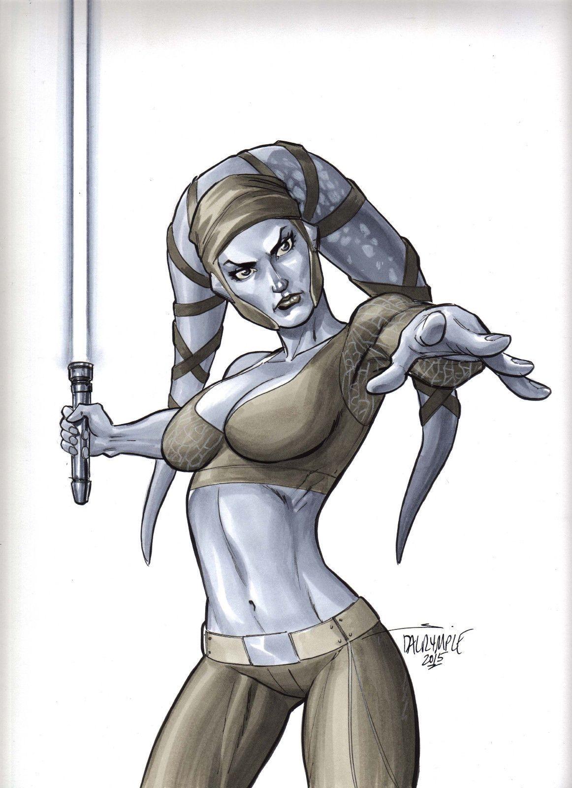 Risultato immagini per aayla secura star wars comics
