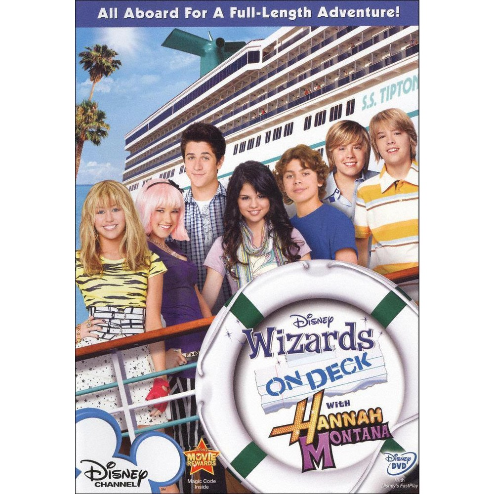 Wizards On Deck With Hannah Montana Dvd Old Disney Channel Disney Kids Hannah Montana