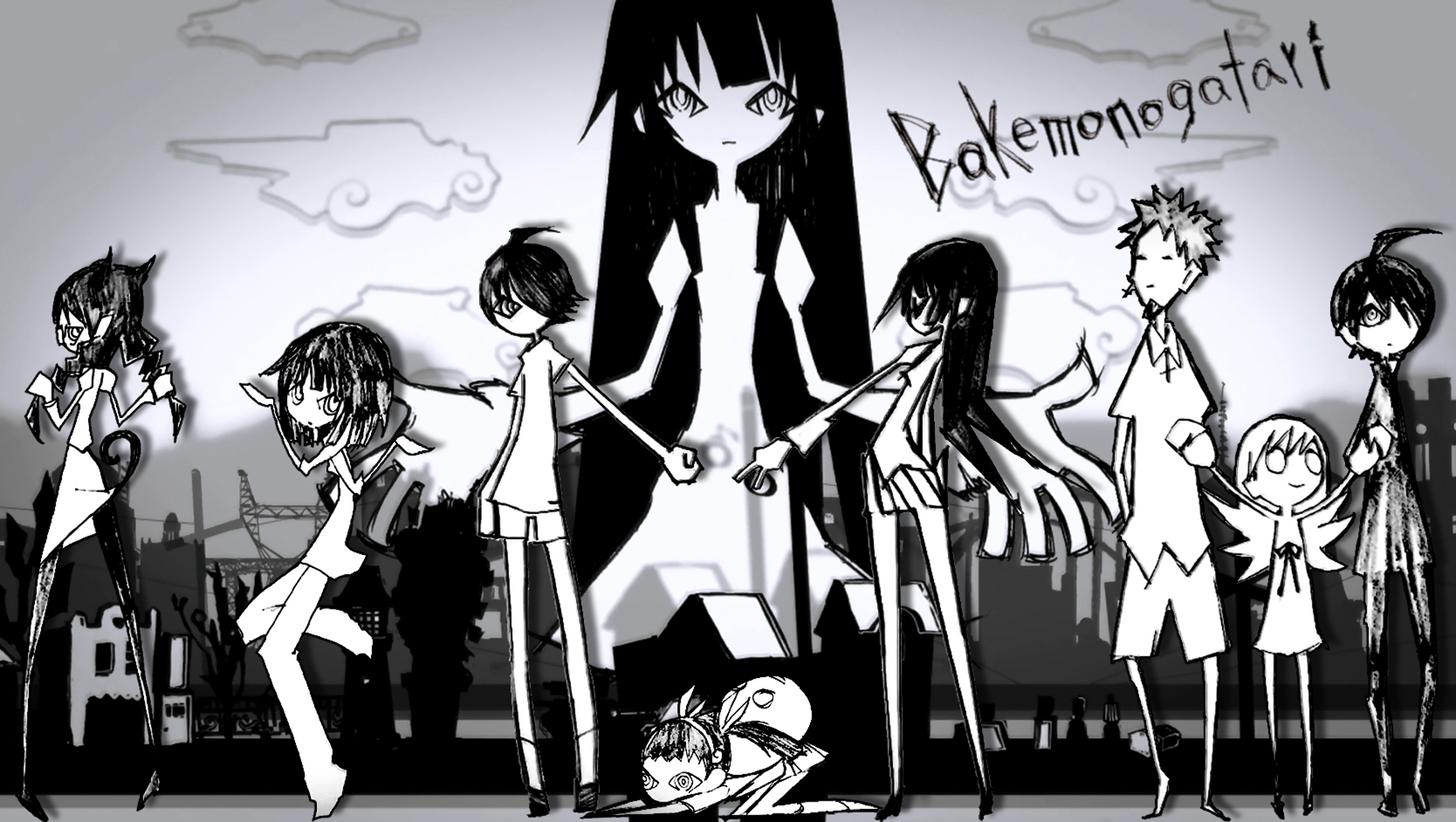 Bakemonogatari Wallpaper Dump Anime Manga Drawing Tutorials Anime Wallpaper