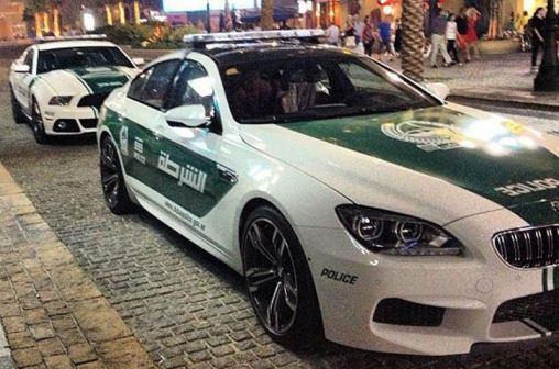 Sports Cars · Dubai Police Bought 4 Door BMW M6 Gran Coupe U0026 Ford Mustang