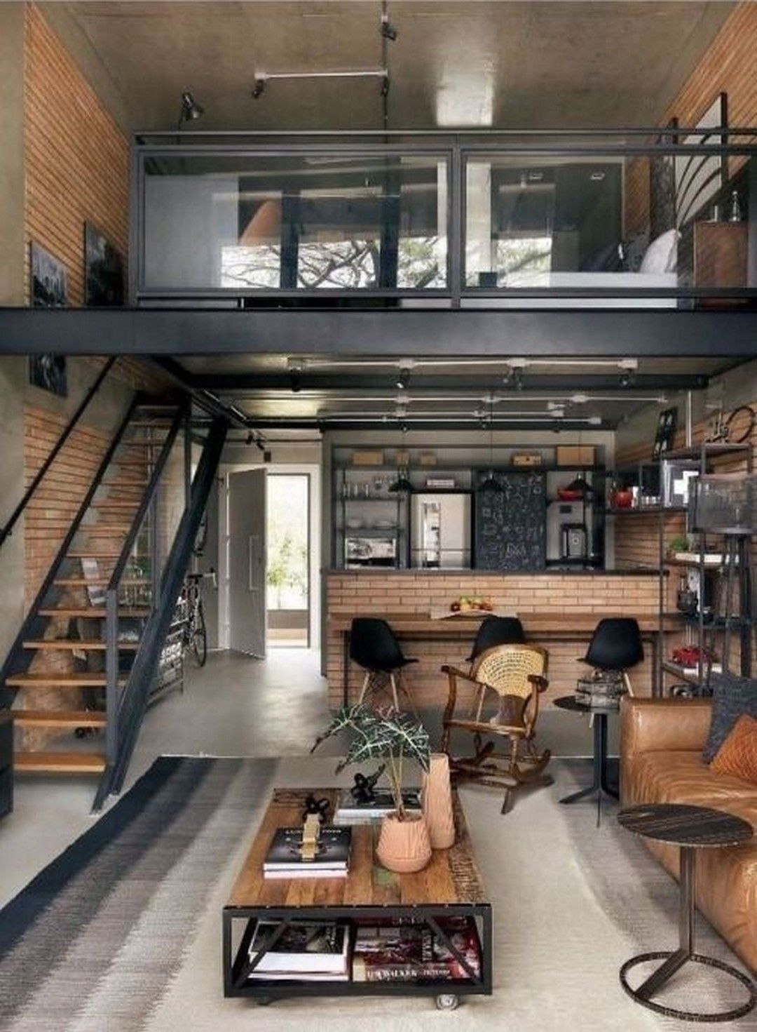Awesome Industrial Farmhouse Design Ideas To Complement Your Home In 2019 Indus Awesome Comp In 2020 Tiny House Interior Design Tiny House Design Farmhouse Design