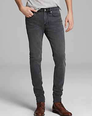 $215, Charcoal Skinny Jeans: BLK DNM Jeans Slim Fit In Classic Wash Grey. Sold by Bloomingdale's. Click for more info: http://lookastic.com/men/shop_items/131457/redirect