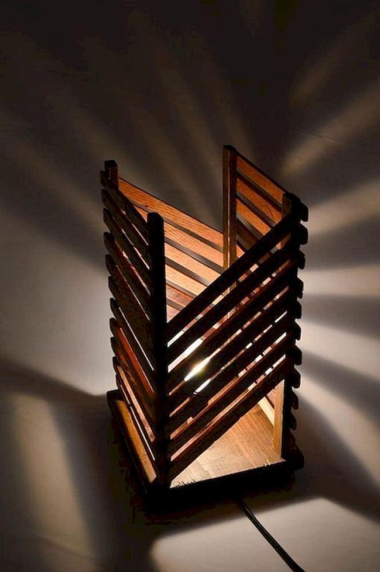Diy Wooden Lamps Decorating Ideas