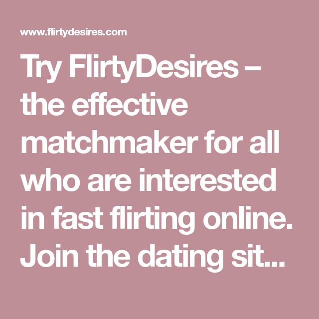 Fast flirting online