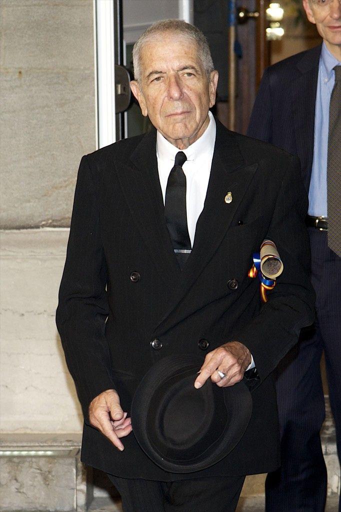 Leonard Cohen Photos Photos - Principes de Asturias Awards 2011 - Day 2 - Zimbio