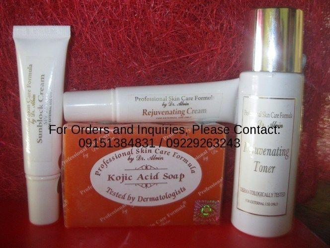 Professional Skin Care Formula By Dr Alvin Rejuvenating Set Includes 135g Kojic Acid
