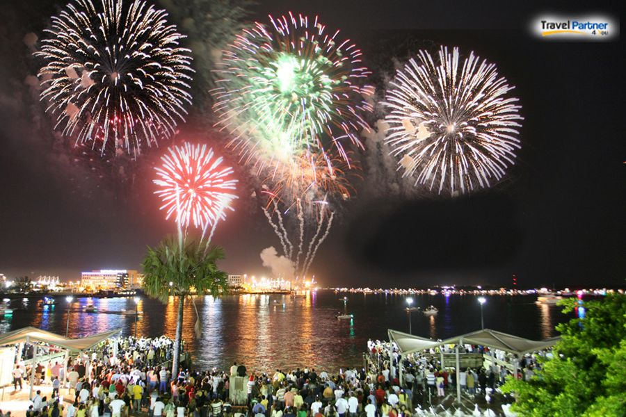 The biggest fireworks at Bayfront Park, home to The Big