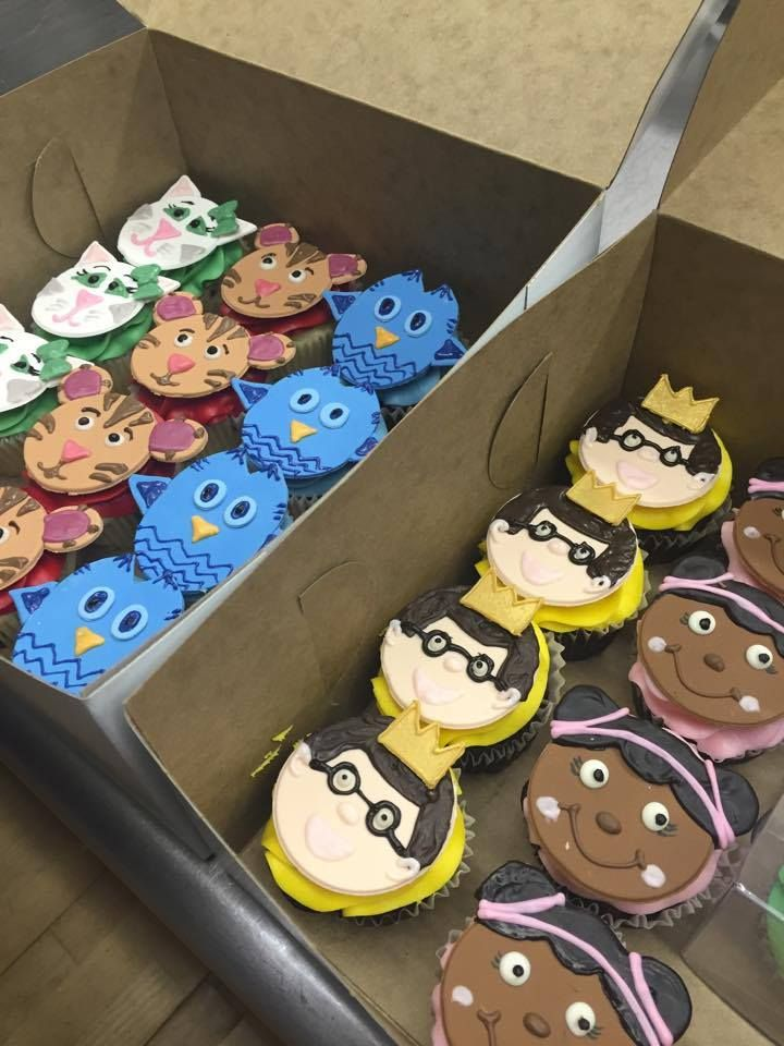 Daniel tiger cupcakes with images tiger cupcakes