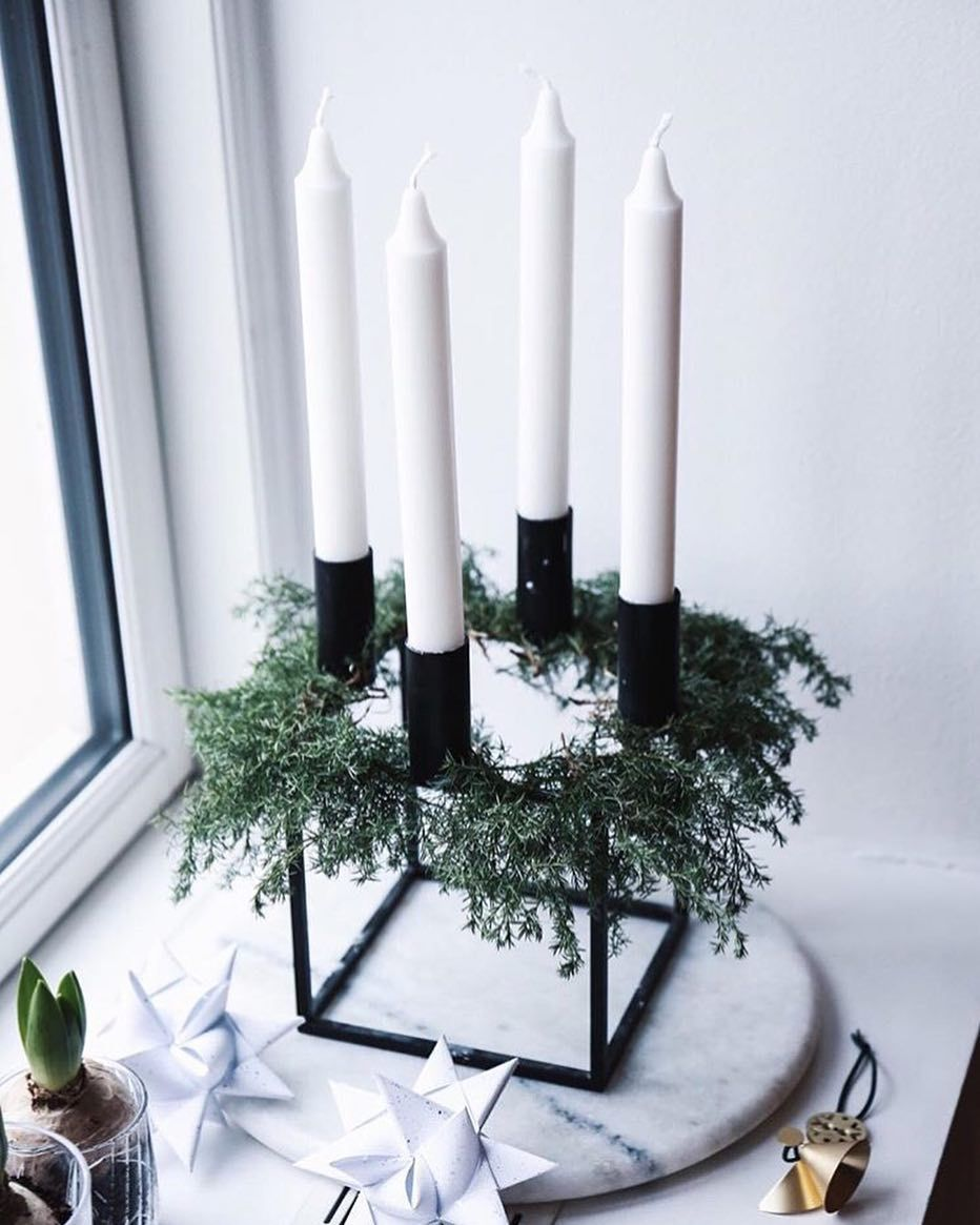 "by Lassen on Instagram: ""Beautiful and evocative Christmas styling of our Kubus candleholder by @sonoma_seven . . #bylassen #kubus #christmasstyling #danishdesign"""