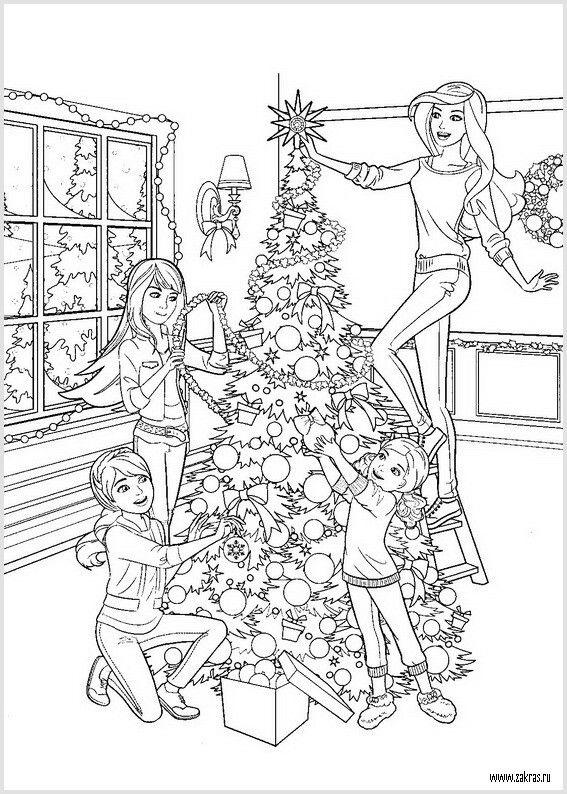 Dibujos De Barbie De Navidad.Pin De Maria Jose En Navidad Dibujos Divertidos Dibujos Y