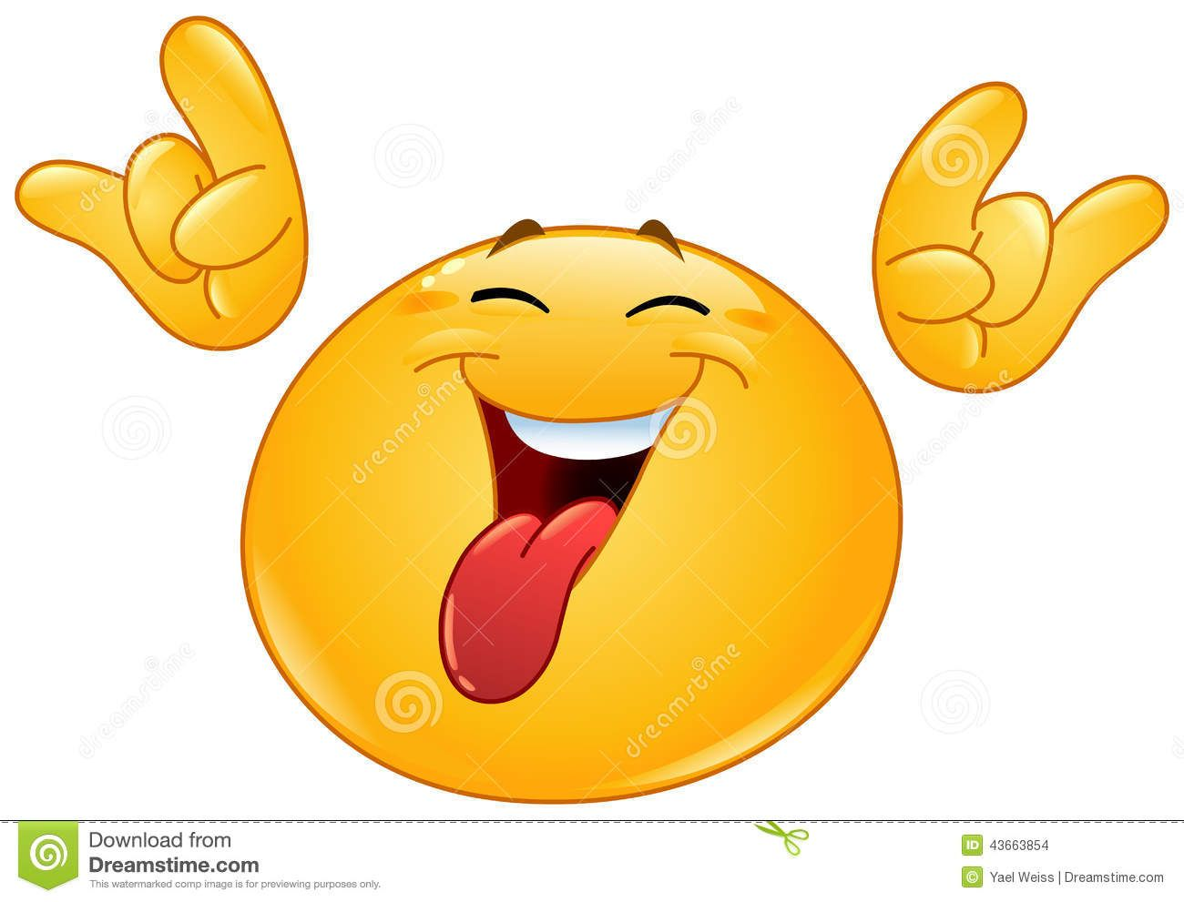 There i sead it emoticon tongue out showing hock em devils horns explore symbols emoticons emoji symbols and more biocorpaavc