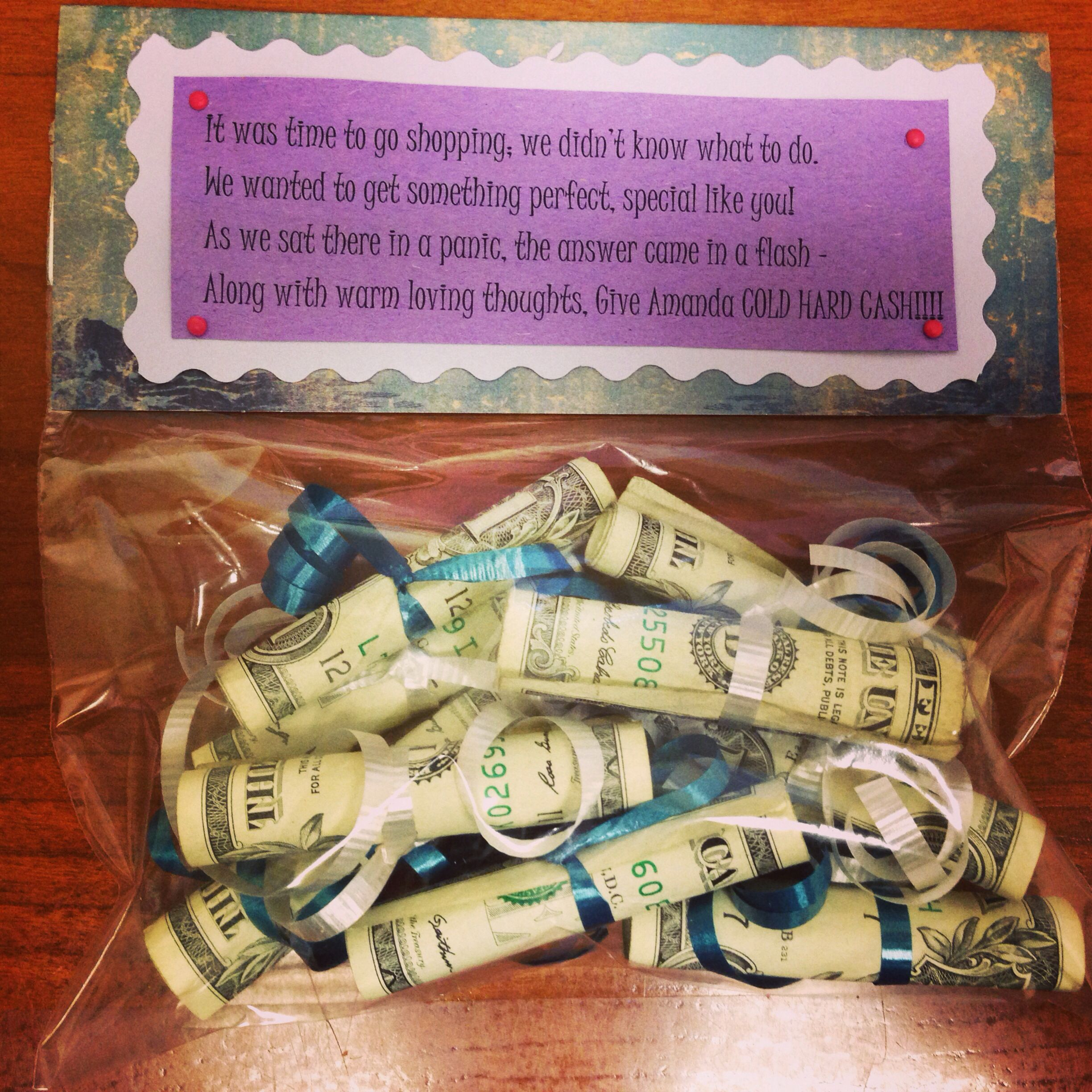 Made Another Cold Hard Cash Gift For My 9 Year Old Niece Amanda Got This From Her Auntie Last Week Super Cute Idea 3