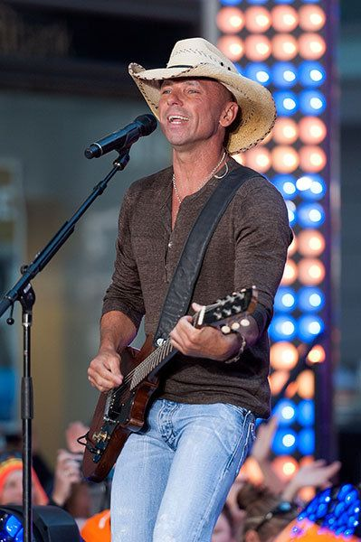 Kenny Chesney performs on NBC's <I>Today</I> on Sept, 23, 2014, in New York City.