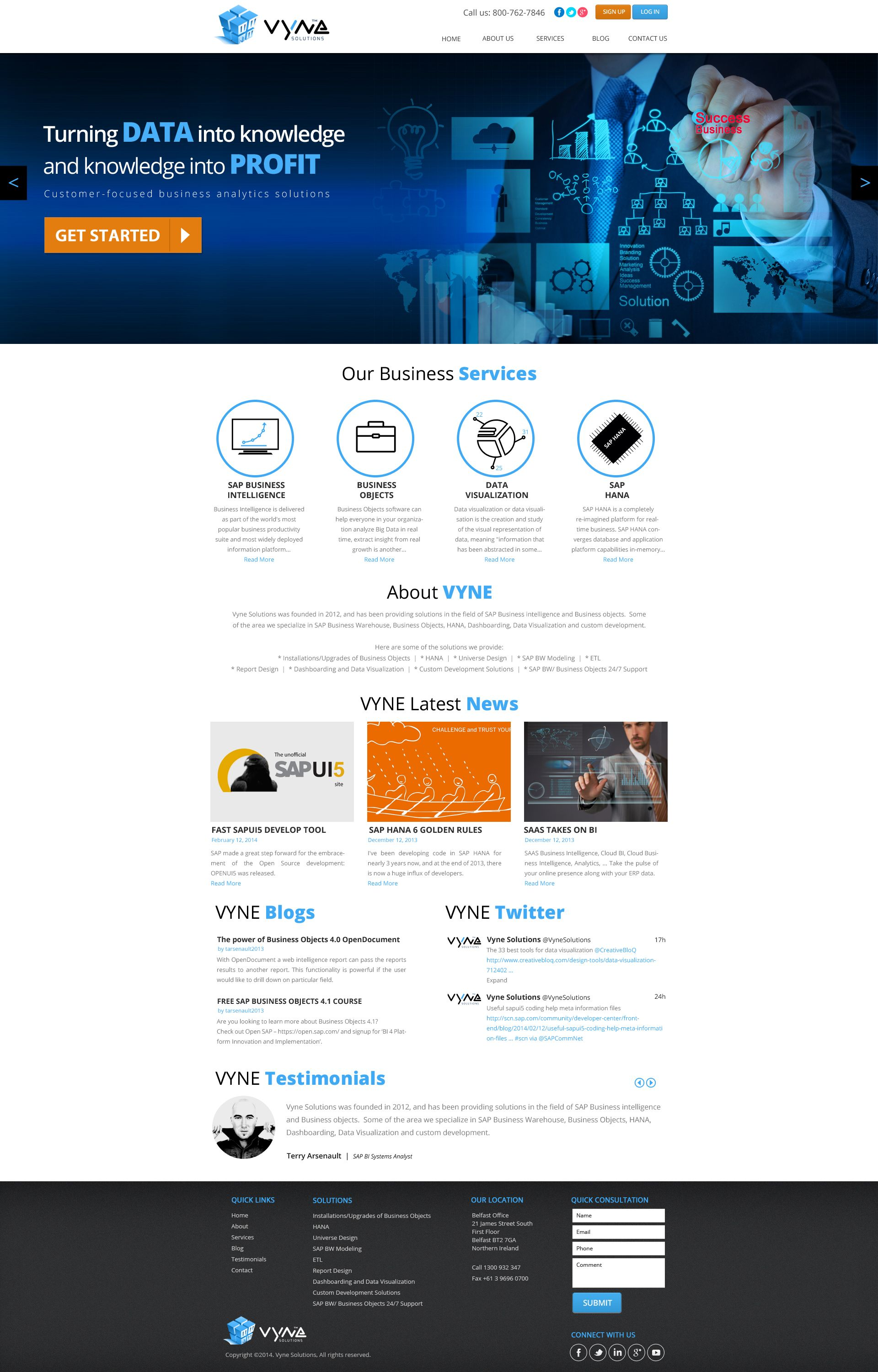 Create A Winning Website For This Business Intelligence Company Website Design 9 By Dezignlab Page Design Business Intelligence Design