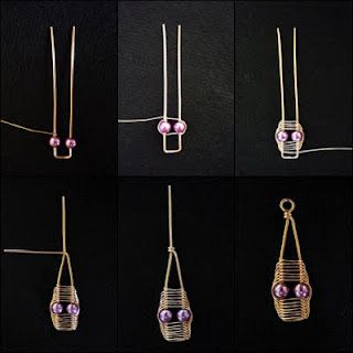 Wire Wrap tutorial by http://bizsugyar.blogspot.co.uk