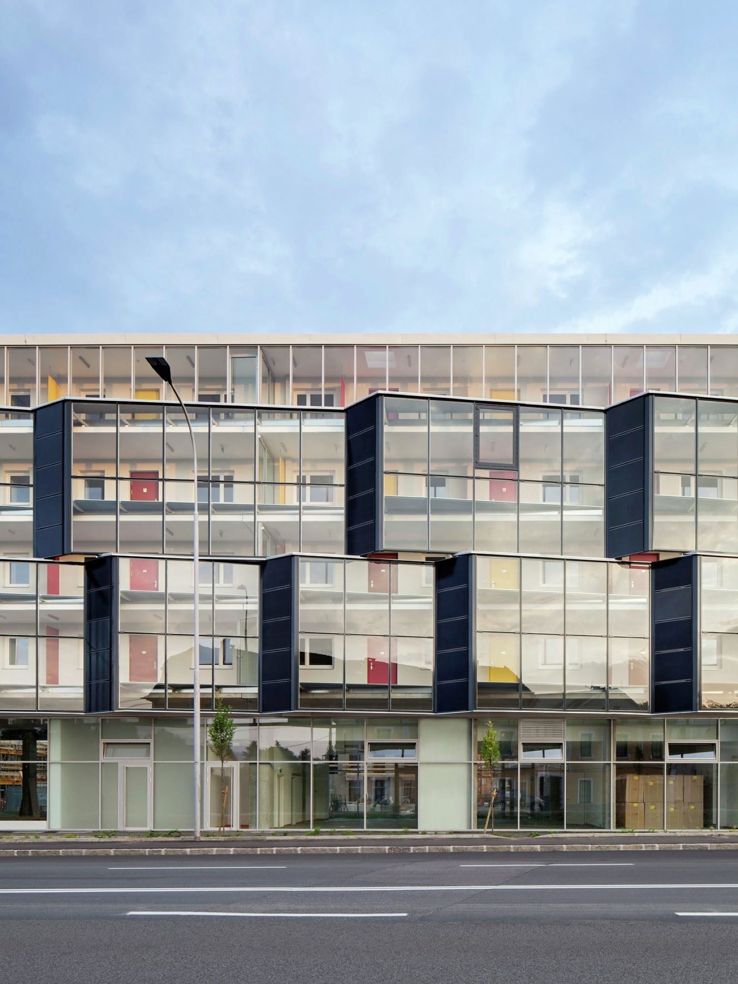 Current Architects glanhof 1 / architects collective | architects, architecture and