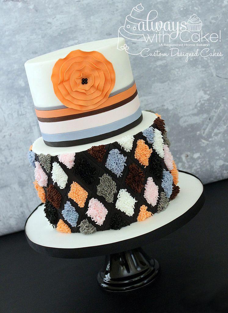 Rug Inspired Cake