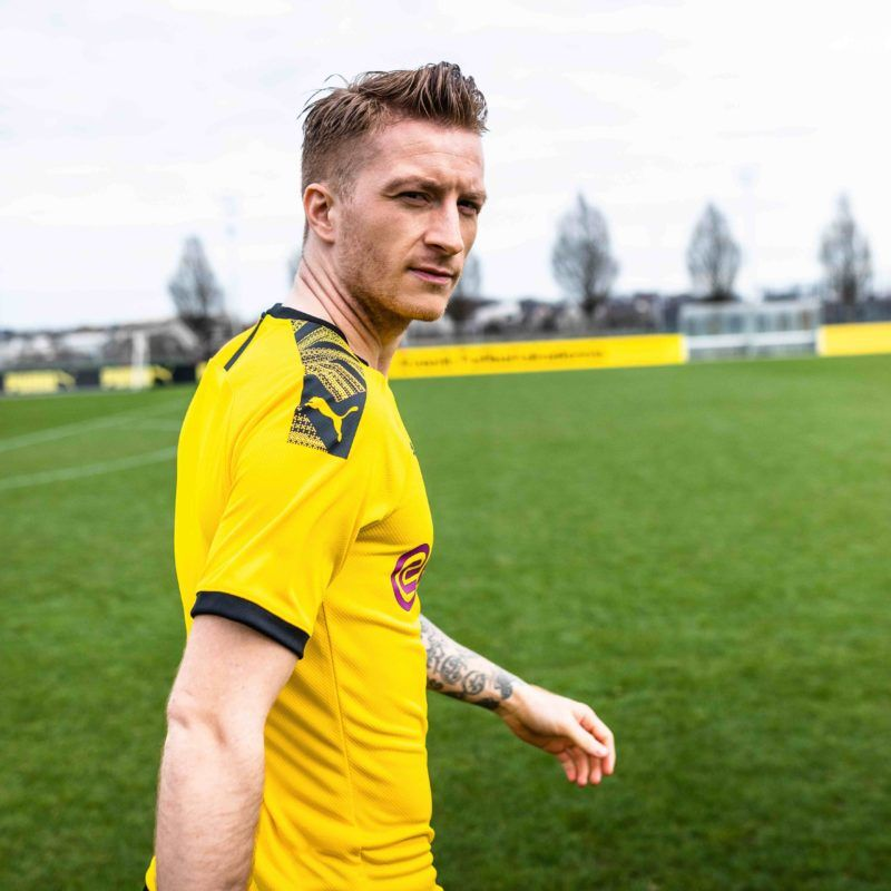 Borussia Dortmund Home Yellow Soccer Jerseys 19 20