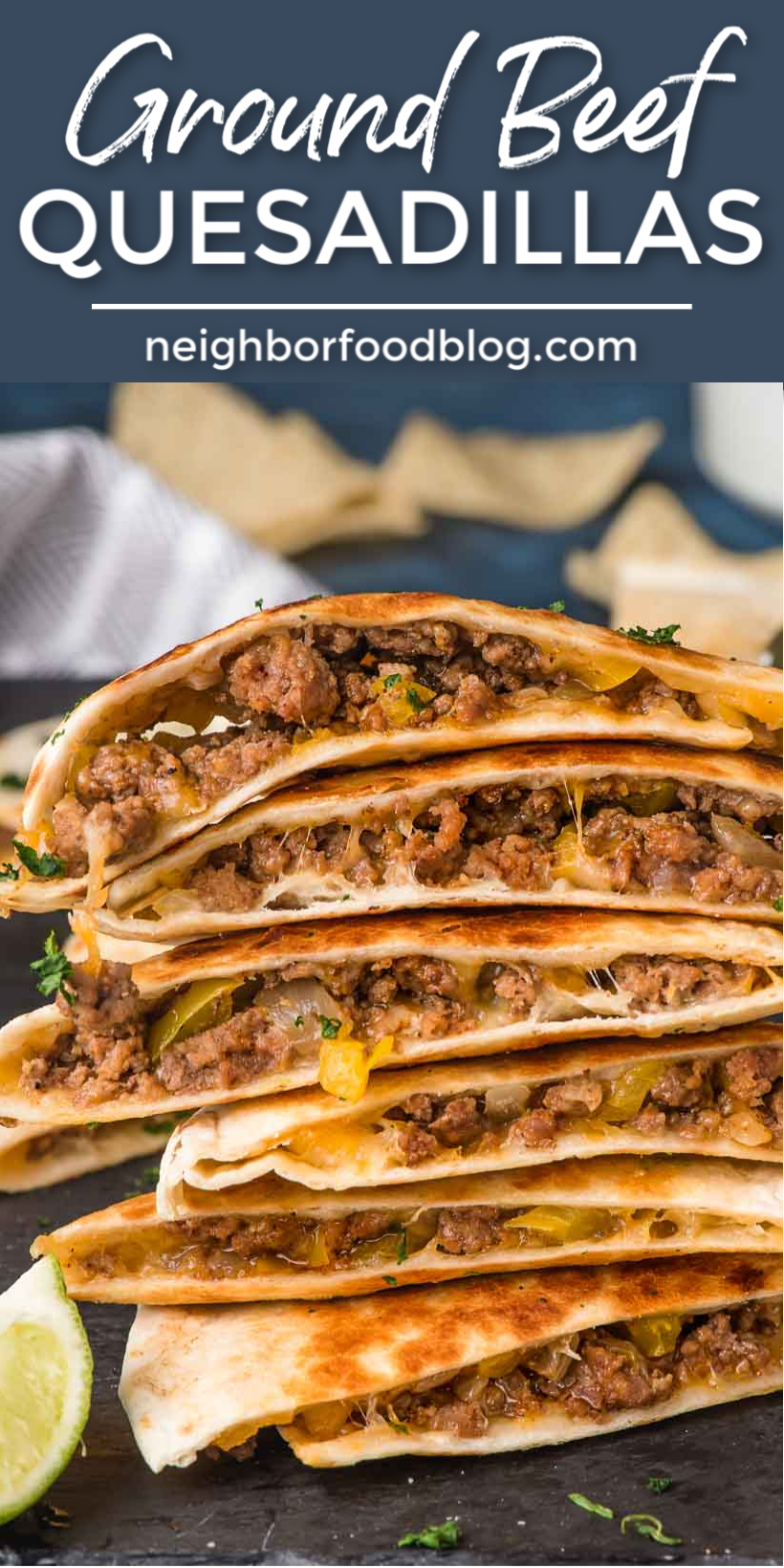 Easy Ground Beef Quesadillas In 2020 Ground Beef Recipes Easy Beef Recipes For Dinner Dinner With Ground Beef