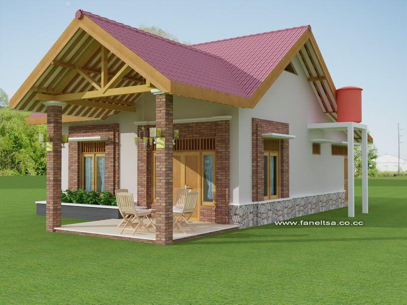 Denah Desain Rumah Sederhana Minimalis Modern Nulis & Denah Desain Rumah Sederhana Minimalis Modern Nulis | Wallpaper ...