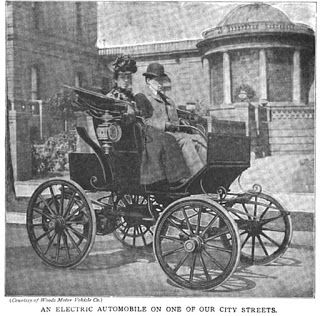 Ask The Past Antique Cars Electric Car Facts