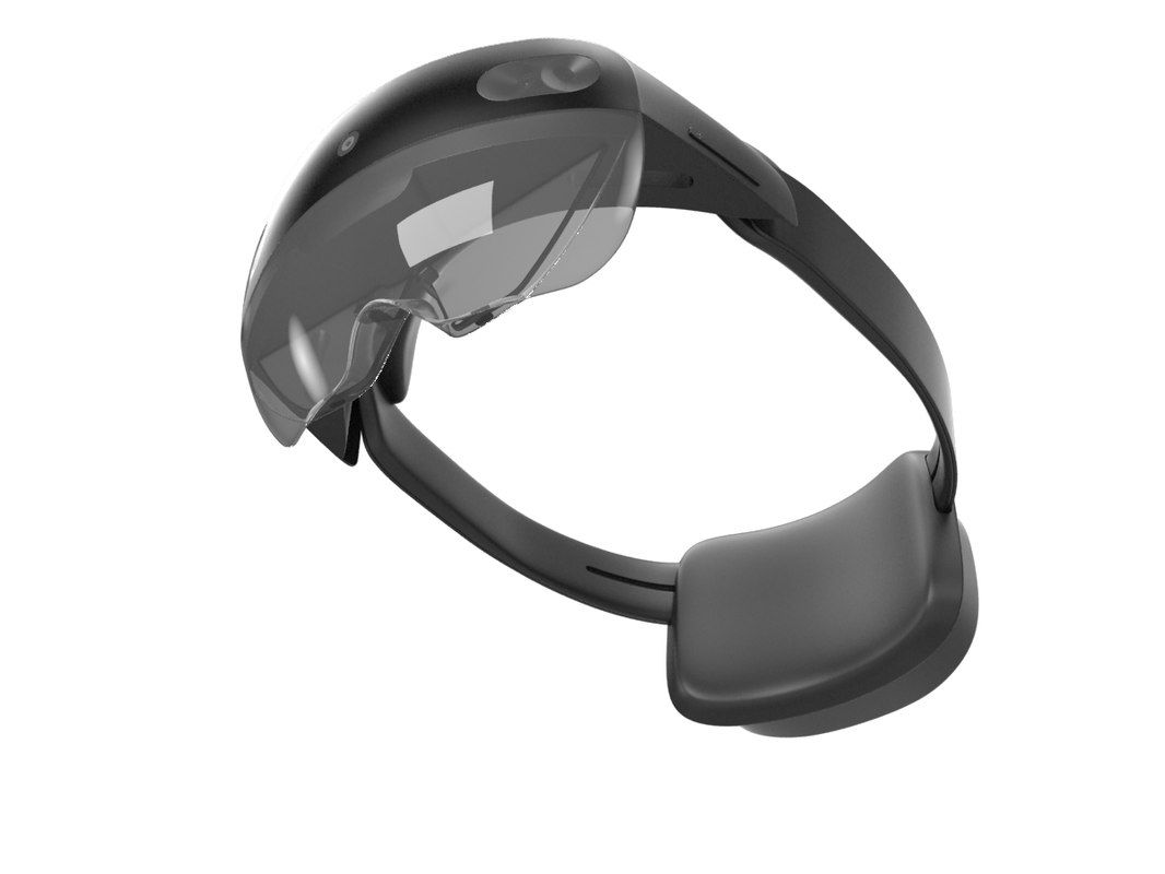 Microsoft Hololens 2 Model Wearable Technology 3d Model Microsoft