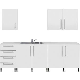 Buy Valencia 7 Piece Sink Kitchen Unit Package - White Gloss at Argos.co.uk, visit Argos.co.uk to shop online for Kitchen packages