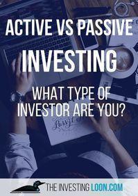 Passive vs active crypto investing