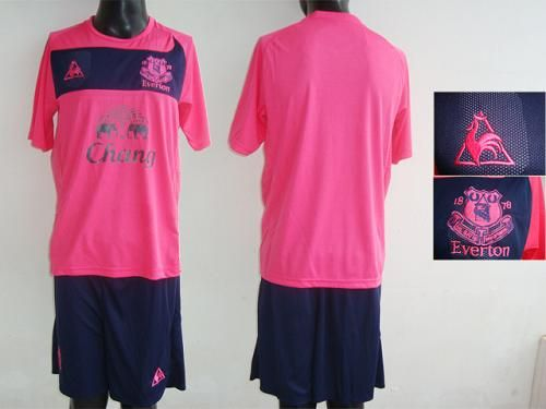 d7fa646ab Everton Blank Pink Away Soccer Club Jersey  Emillia Kelly