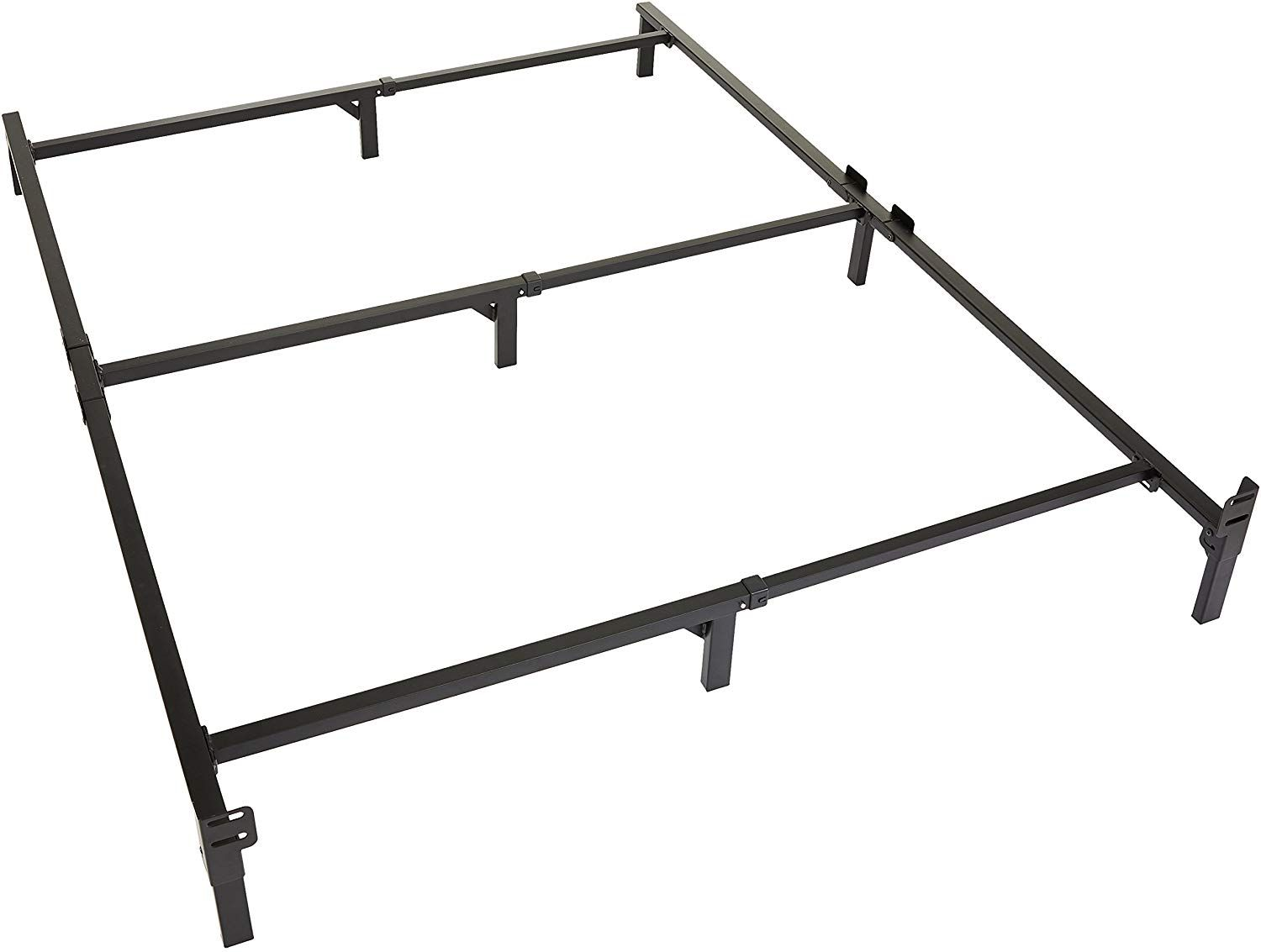 Tool Free Easy Assembly Full Size Bed Full Bed Frame Supports A