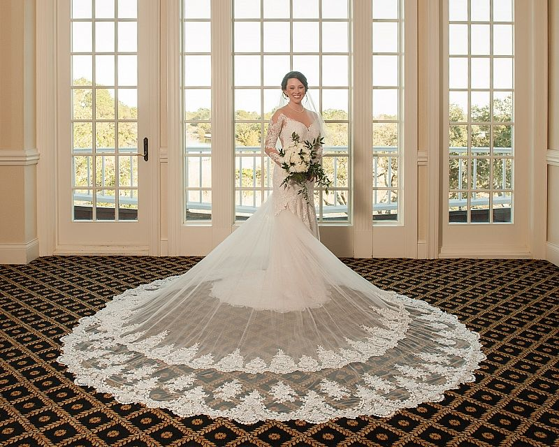 Mermaid Wedding Gowns With Sleeves: Real Bride Noelle In Our Mermaid Lace Wedding Dress With