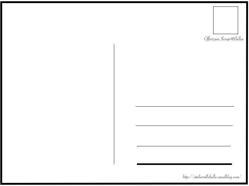 Idee Modele Carte Postale Modele Carte Postale Carte Postale Carte