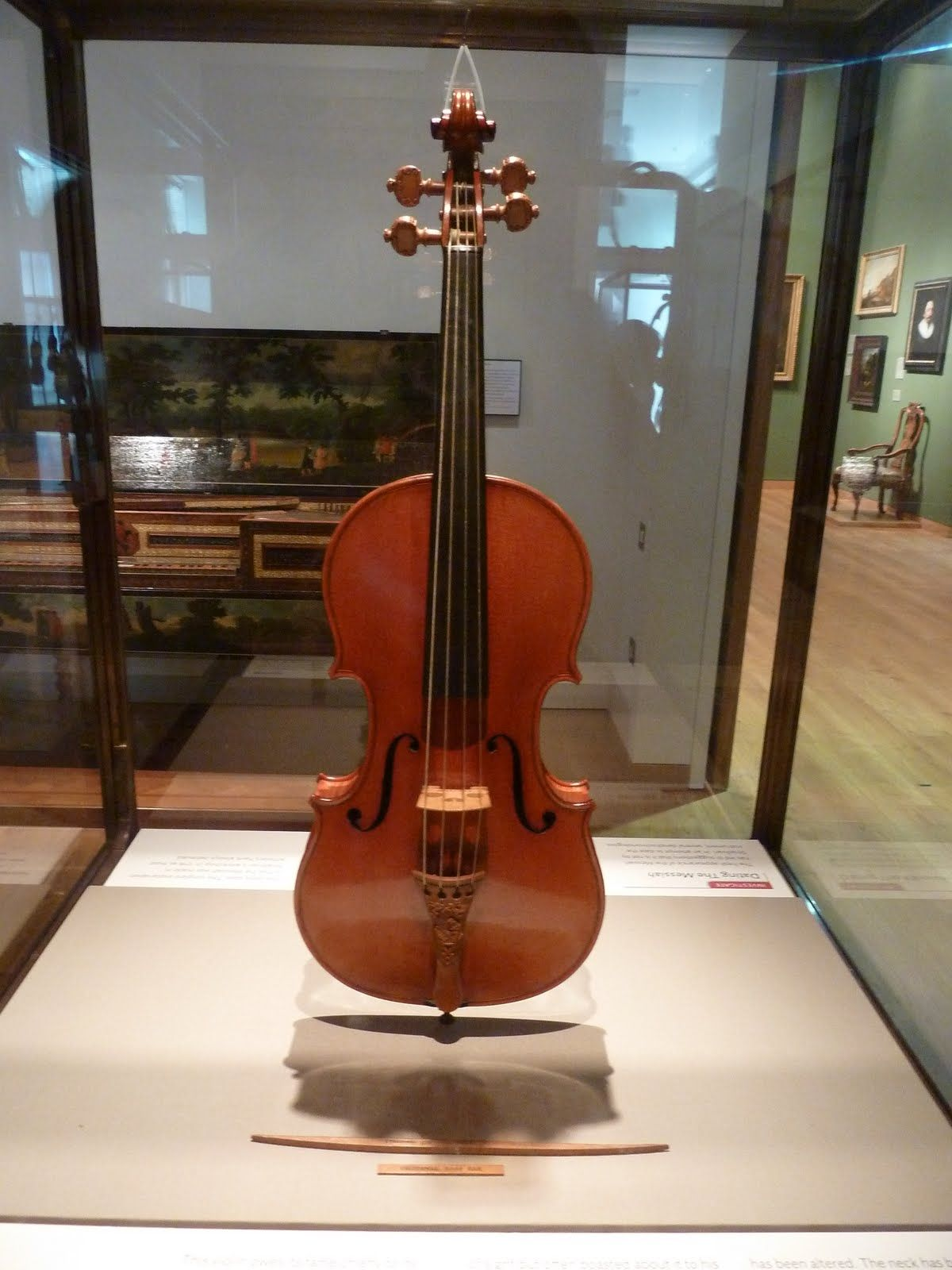 The Messiah Stradivarius 1716 Possibly The Only Strad Exactly As Made The Messiah Is In The Collection Of The Violin Stradivarius Violin Violin Instrument