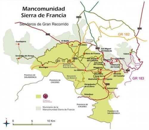 Senderos Señalizados Francia Rutas De Senderismo Salamanca