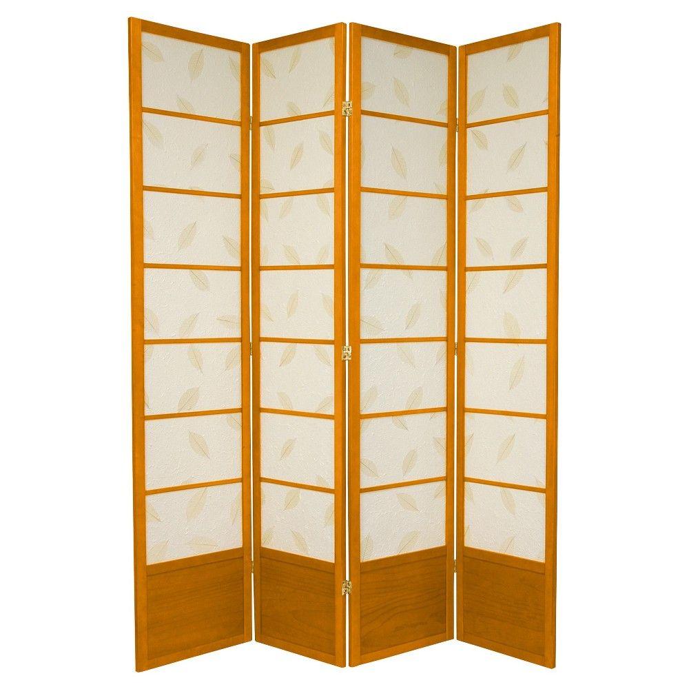 Botanic Shoji Screen - Oriental Furniture