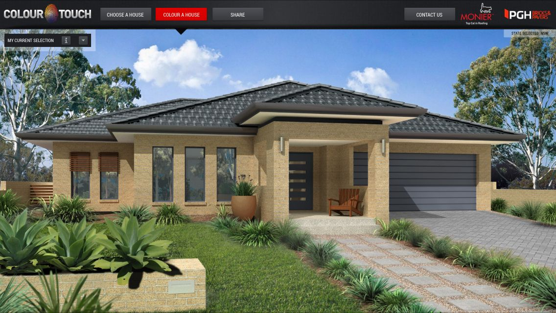Colours for the new build Bricks - PGH Palazzo Range Camello Roof - fresh blueprint consulting ballarat