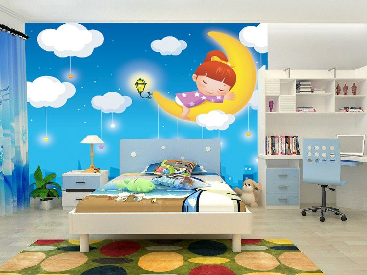 dinosaurs wall mural kids bedroom enhancement with murals about ...
